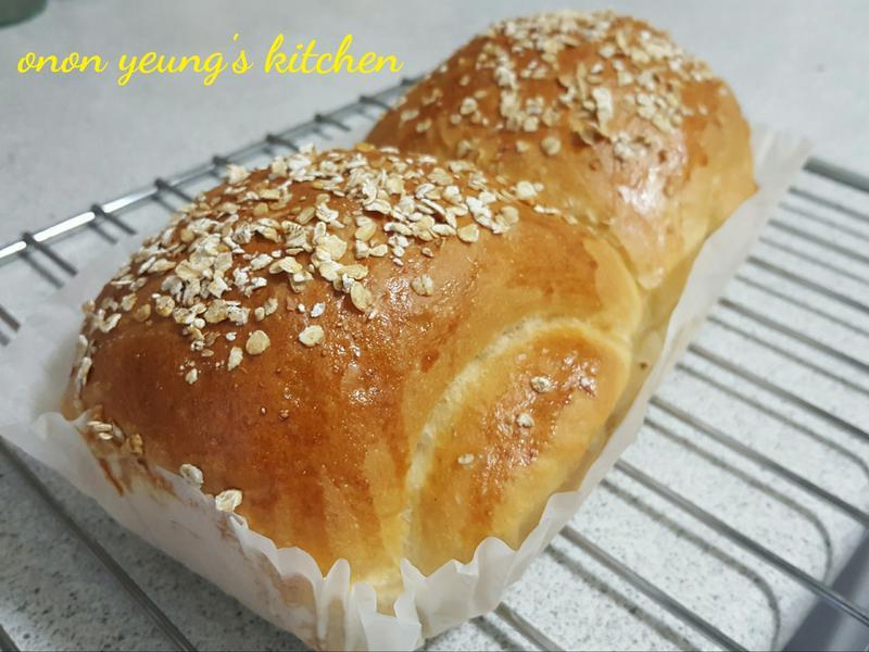 燕麥橄欖油麵包