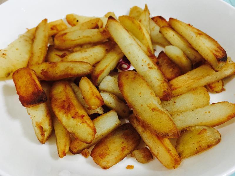 簡單炸薯條