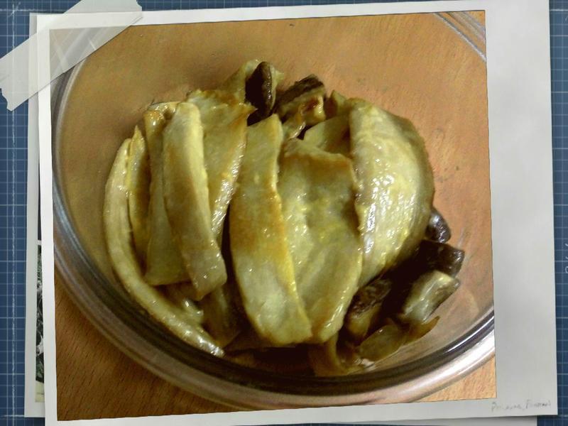 電磁爐料理  奶香杏鮑菇
