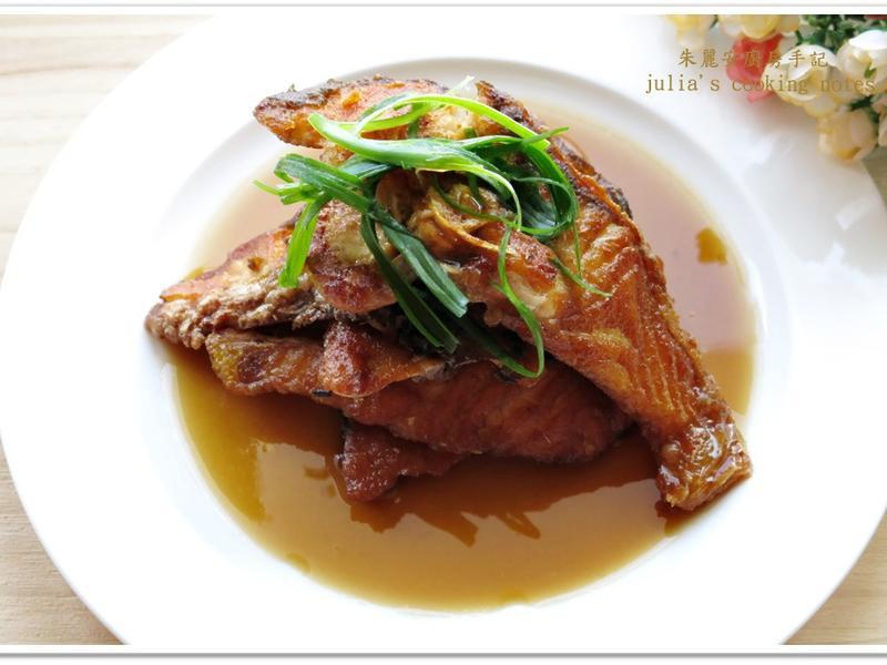 [五香紅燒魚片]古早味家常菜