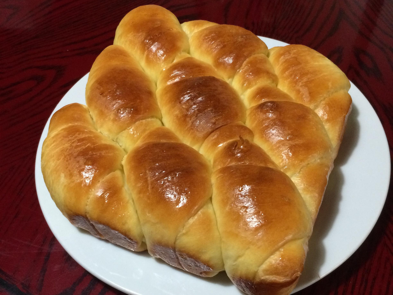 奶香麵包捲(水合法)