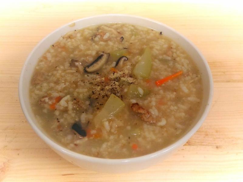 台式蒲瓜鹹粥