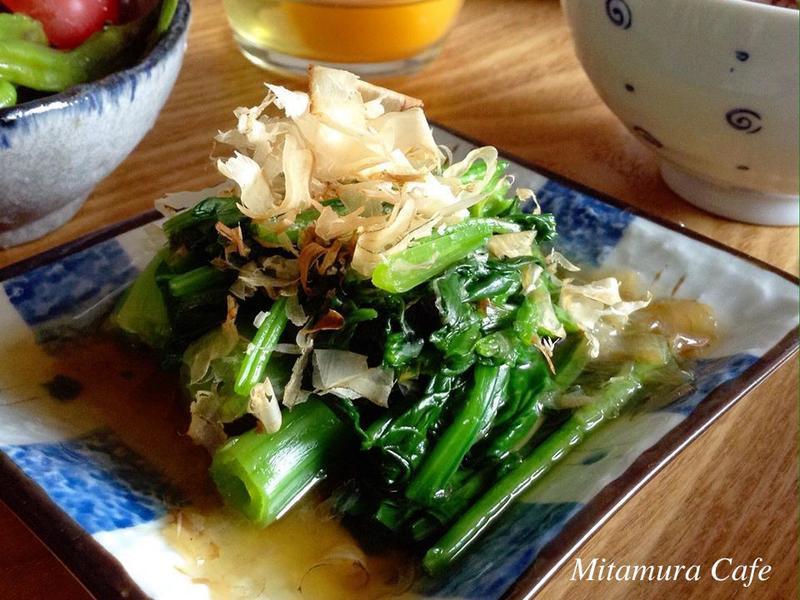 和風醬泡菠菜