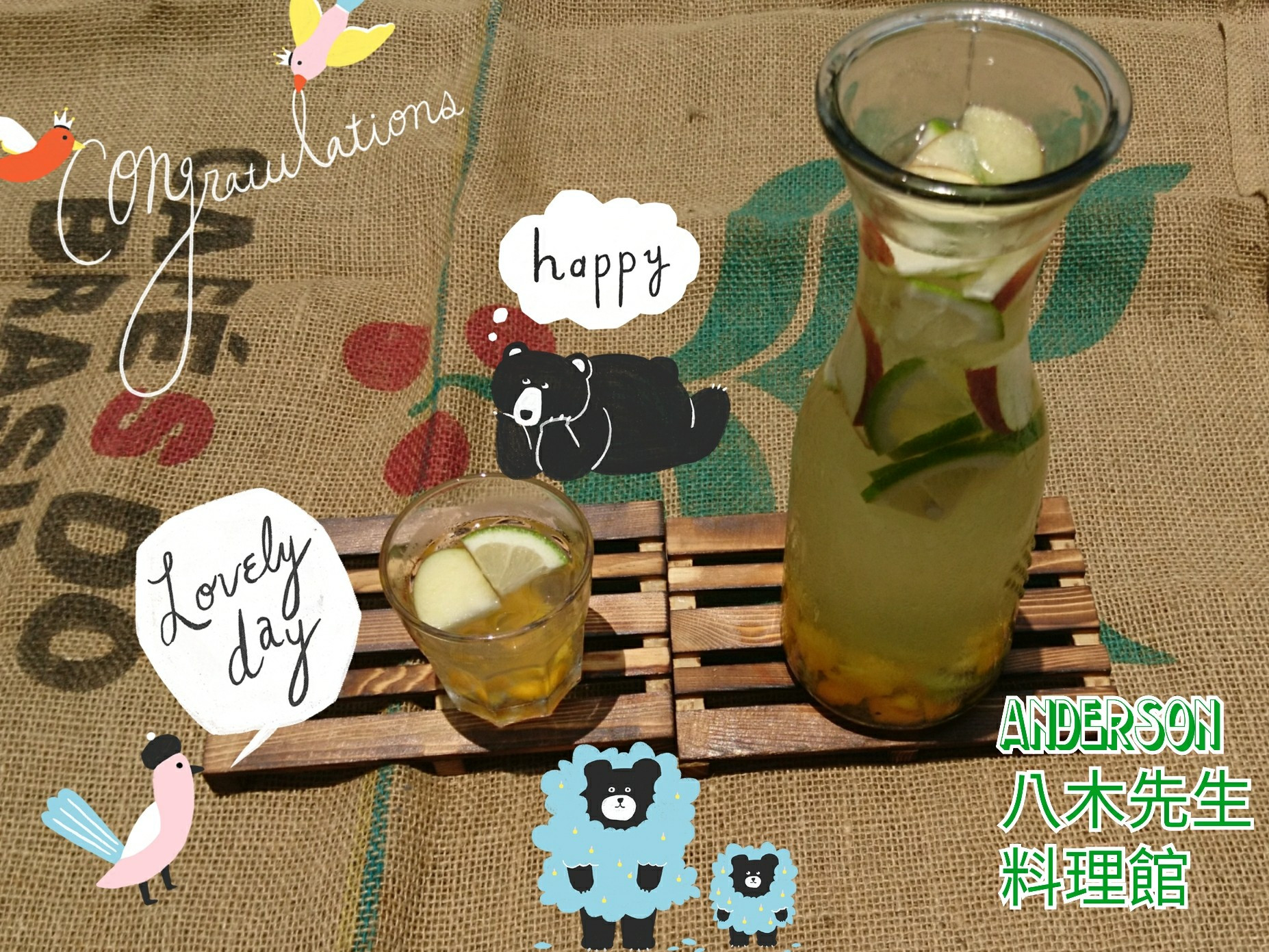 纖顏活麗日◇芒果蘋果檸檬奇異果水果排毒水