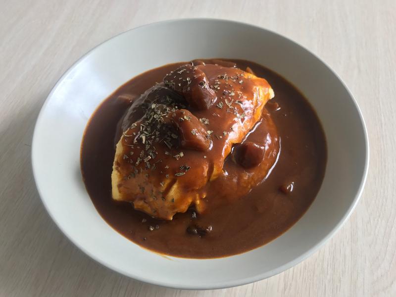 大廚的日式咖喱奄列飯