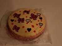 草莓慕斯生日蛋糕