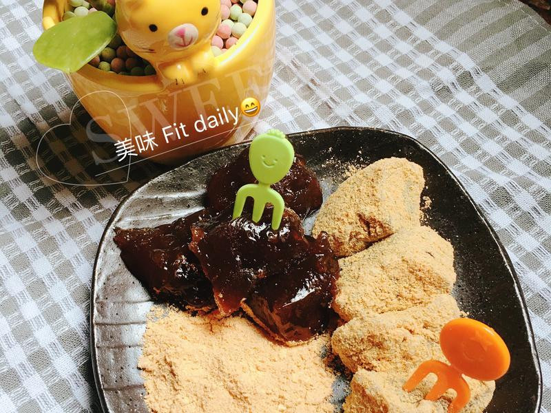 黑糖藕粉涼糕😋消暑小點心