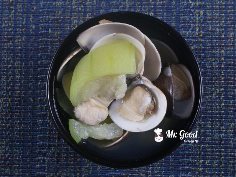 絲瓜蛤蜊湯【好好鮮生料理廚房】