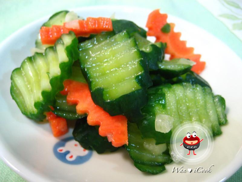 ♡宛の清涼一夏 ♥ 料理 ✿ 涼拌小黃瓜