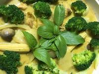 簡易泰式綠咖哩