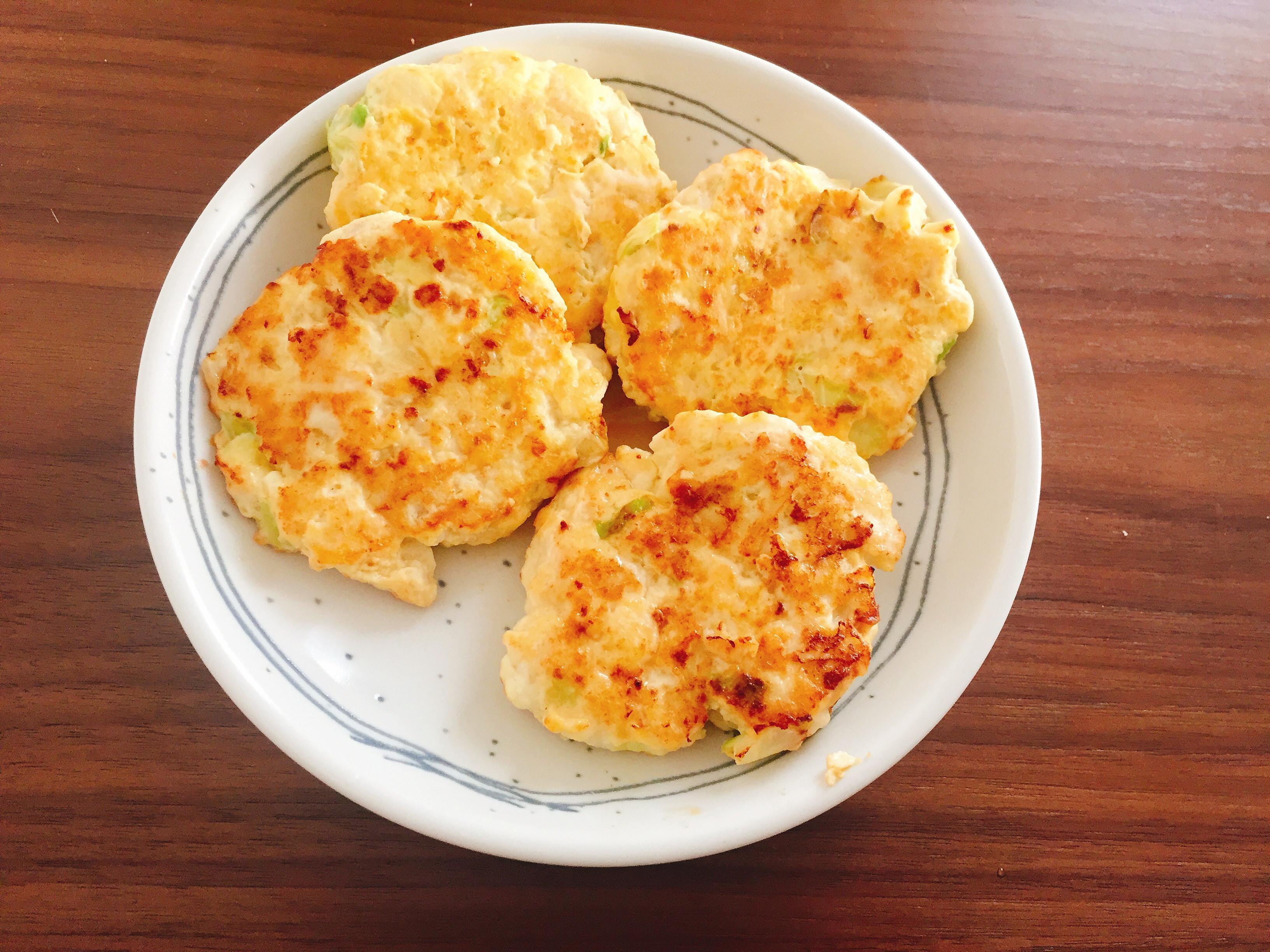 低卡料理日記Day6 雞胸肉豆腐排