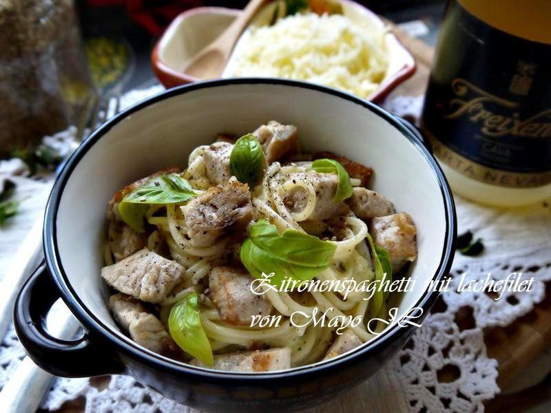 檸香雞肉/鮭魚義大利麵