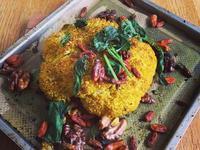 姜黃香烤椰菜花