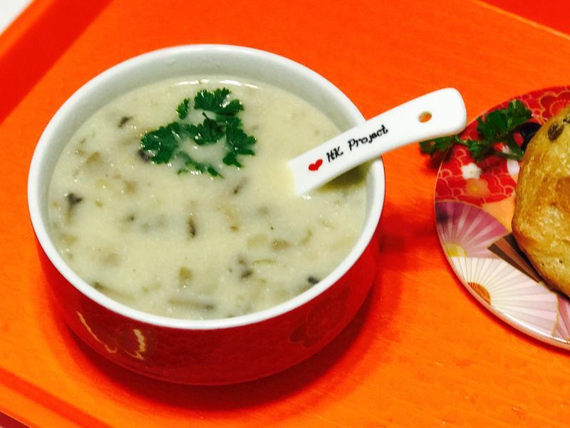 蘑菇湯Mushroom soup