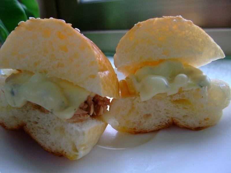 簡單起司三明治~