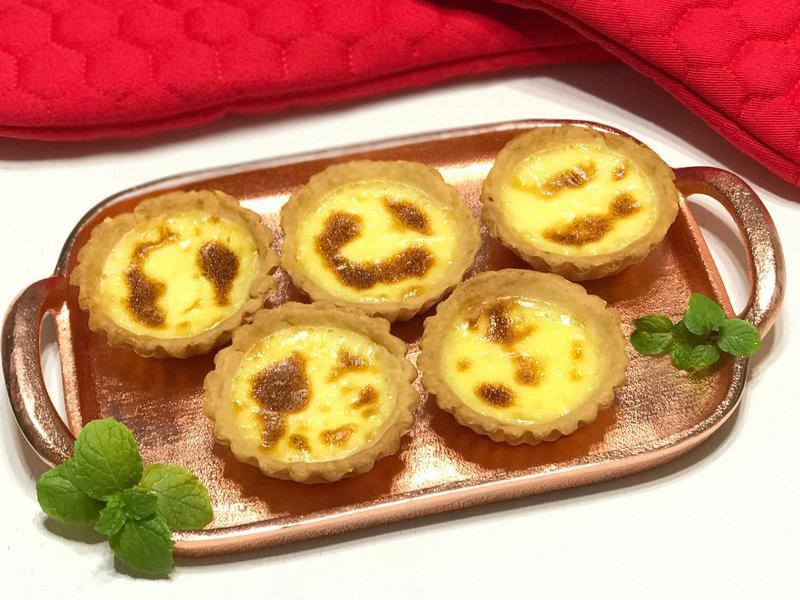 焦糖蛋撻Caramel egg tart