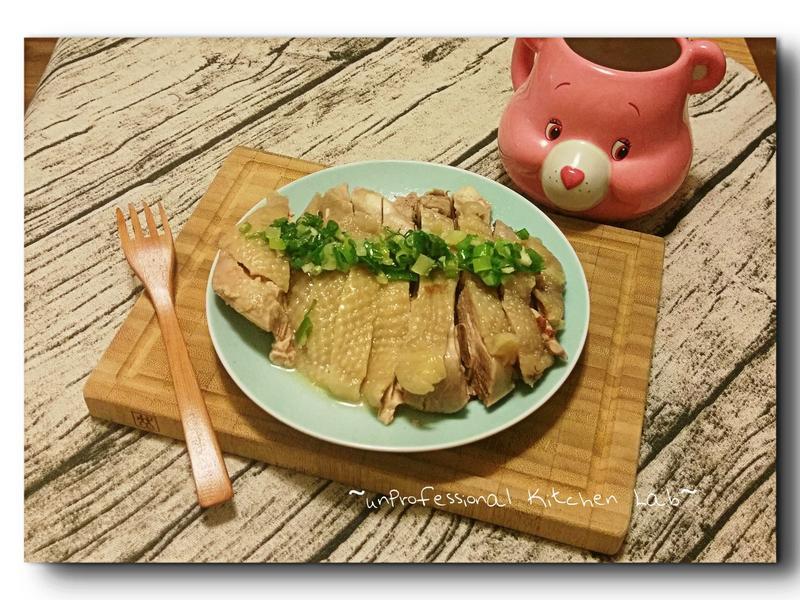 夏日輕食~白斬雞