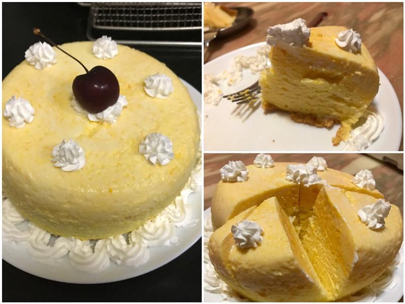 南瓜布丁蛋糕 南瓜蛋糕 生日蛋糕