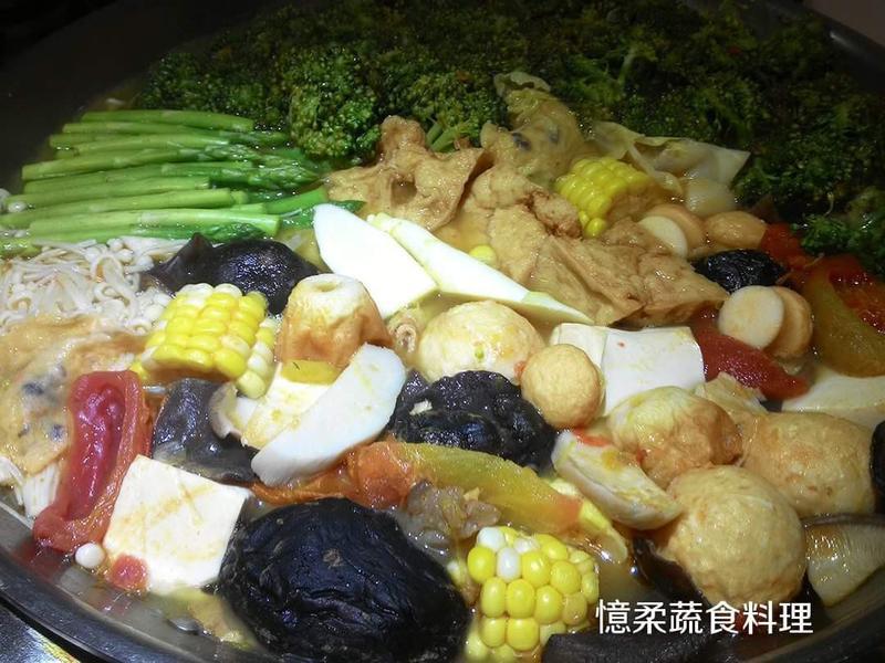 ♥憶柔蔬食♥南瓜味噌火鍋