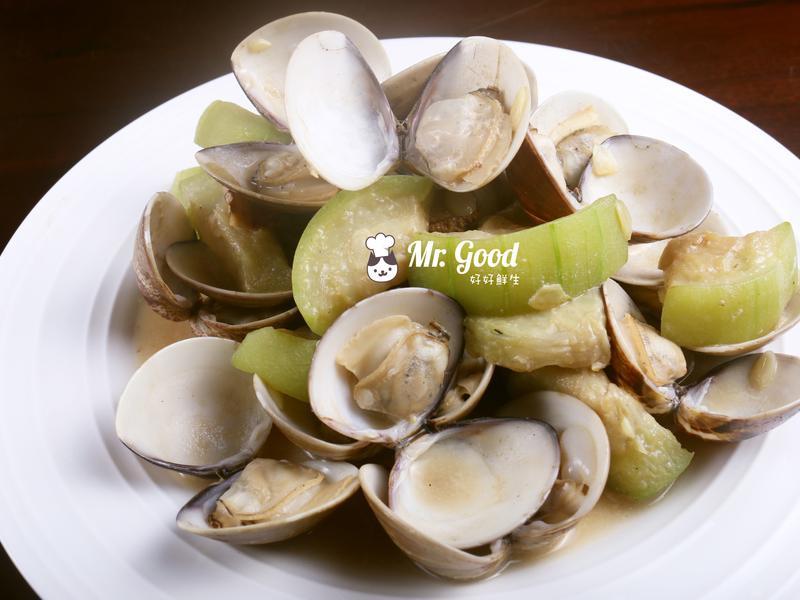 蛤蜊絲瓜【好好鮮生料理廚房】