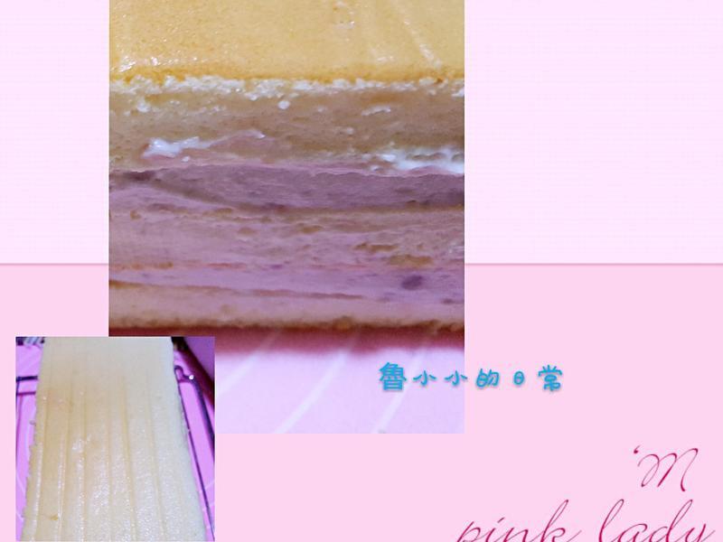 芋泥鮮奶蛋糕~綿密保水