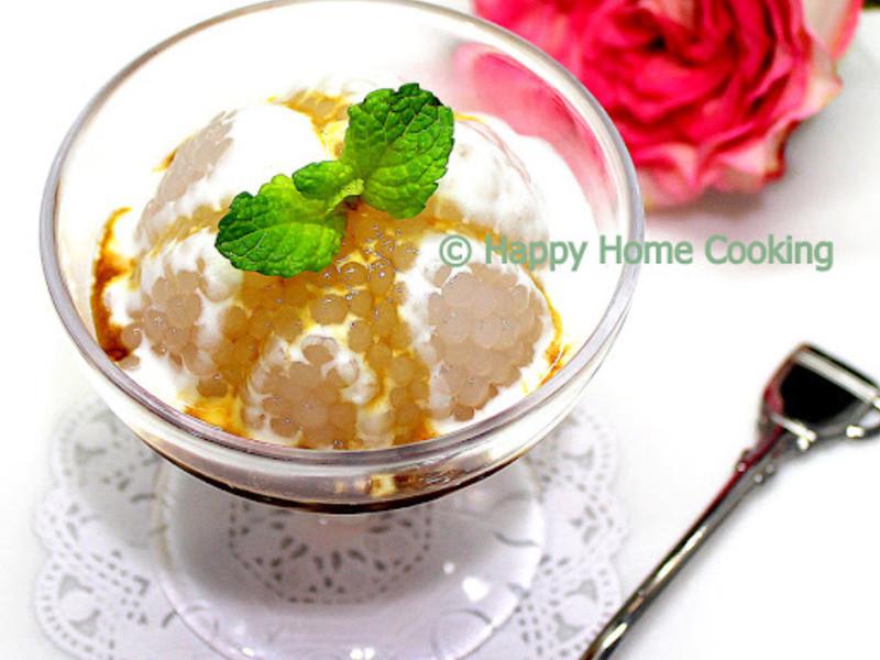 開心入廚の馬六甲椰糖西米糕