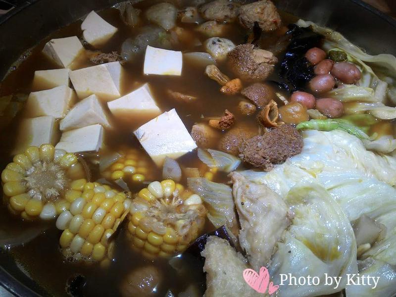 ♥憶柔蔬食♥素肉骨茶火鍋