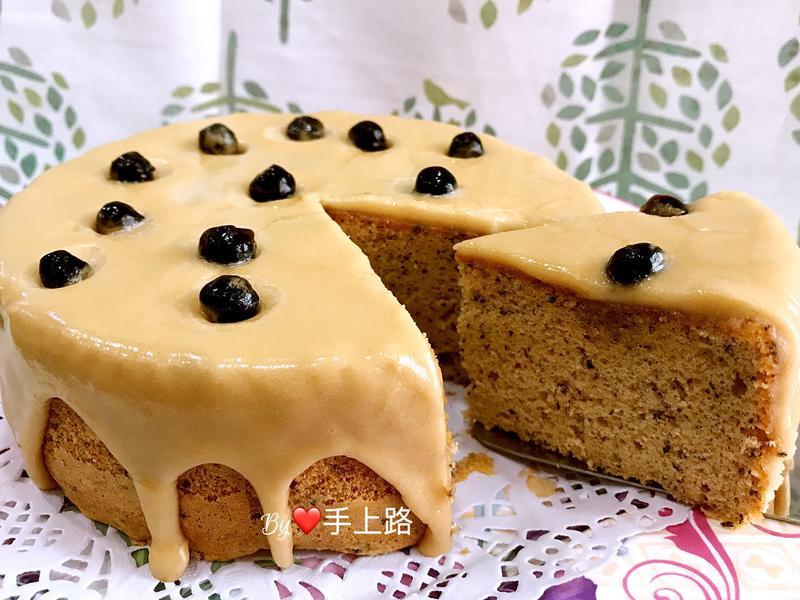 珍珠奶茶糖霜海棉蛋糕(6吋)