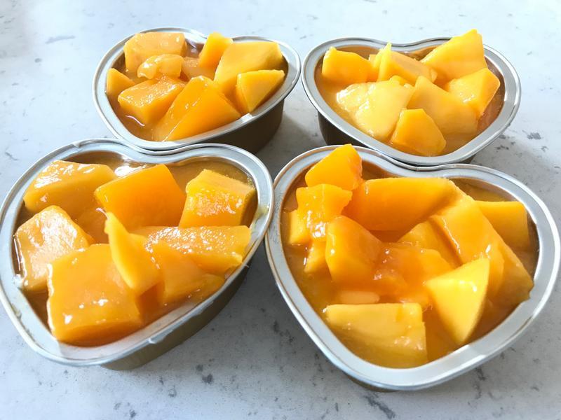 芒果鮮奶酪+伯爵奶酪