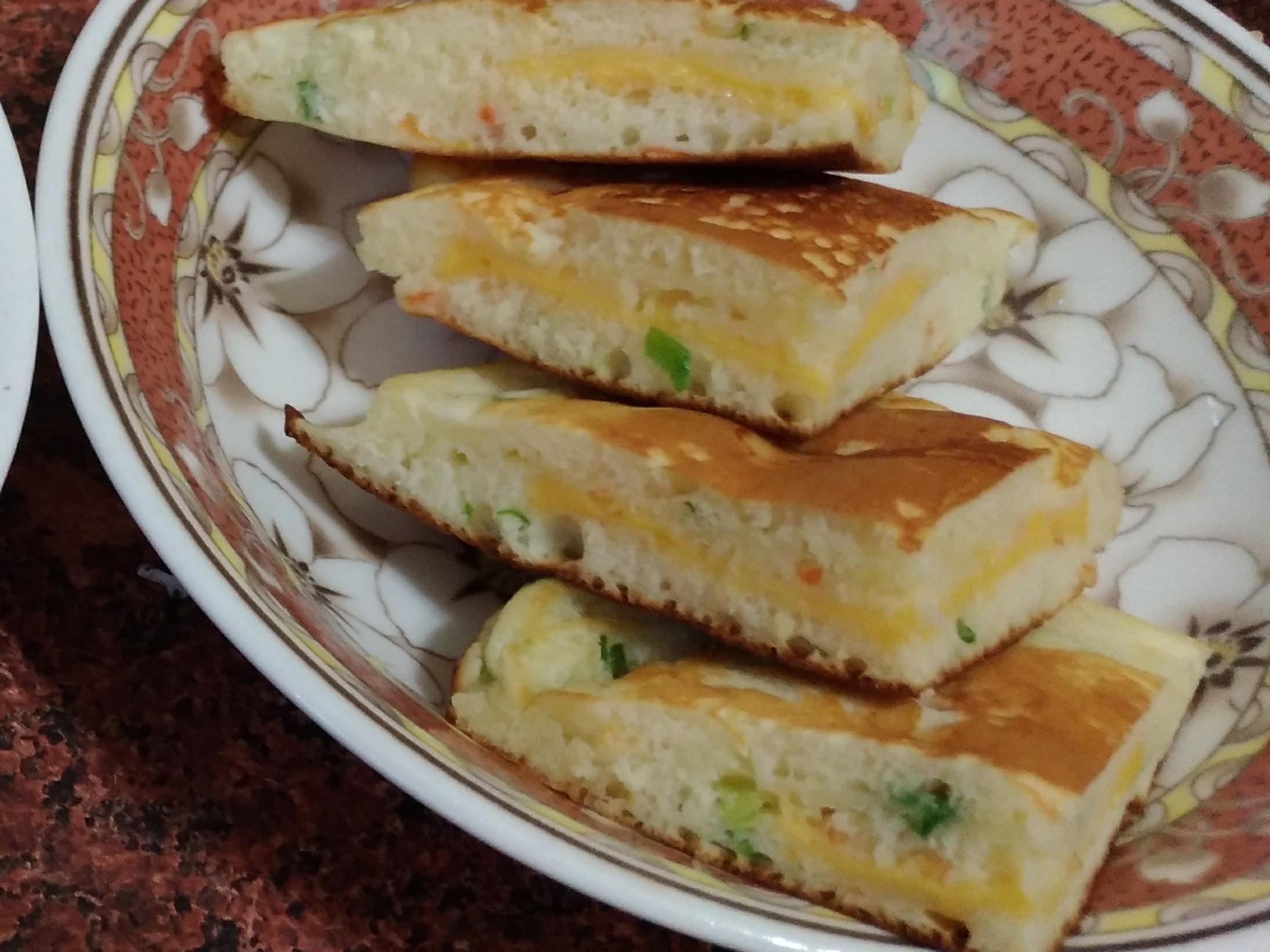 🍴🧀蔥花起司鹹味鬆餅🧀🍴