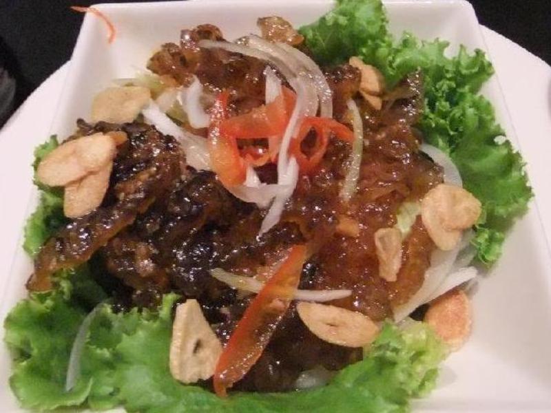ღ小吟愛做菜ღ 深海魚皮野蔬沙拉