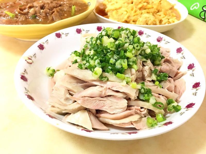 涼拌油蔥雞腿(五分鐘上桌)