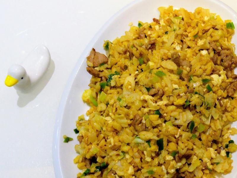 肉絲黃金蛋炒飯