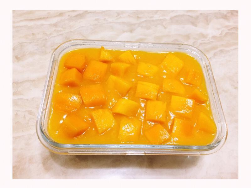 夏日限定🌞三色芒果奶酪🍹