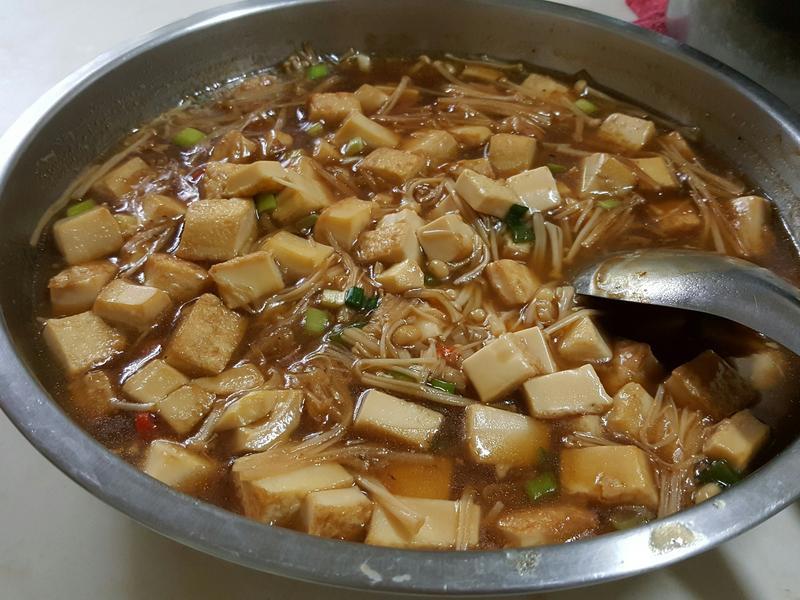 簡易醬燒豆腐