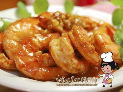 檸檬奶油蝦
