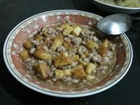 豆腐燴肉末