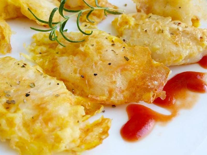 酥脆黃金巴沙魚〞