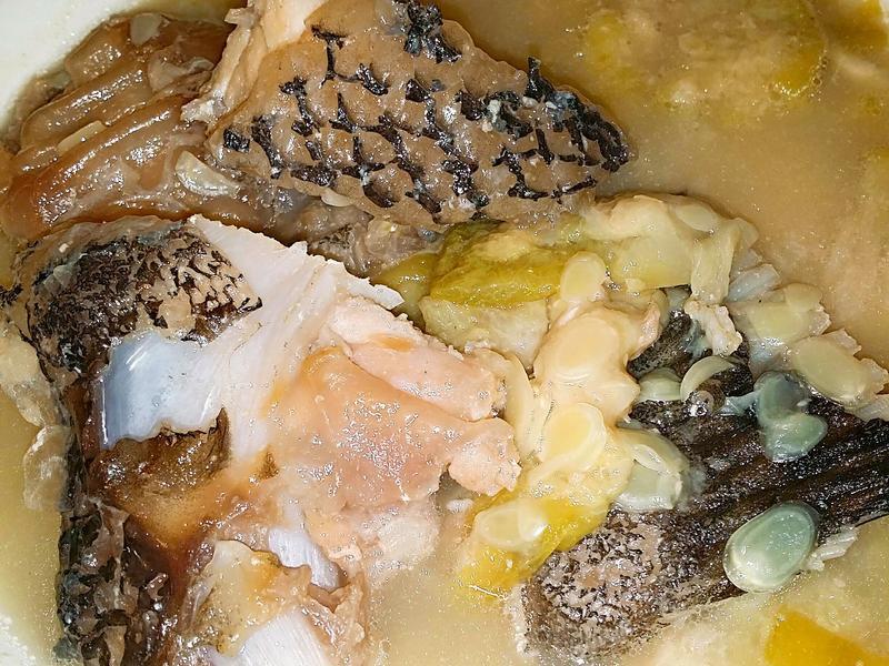 🍐🐋🍜絲瓜龍膽石斑魚湯