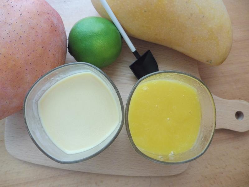 盛夏盛產 芒果季 簡單的芒果奶酪