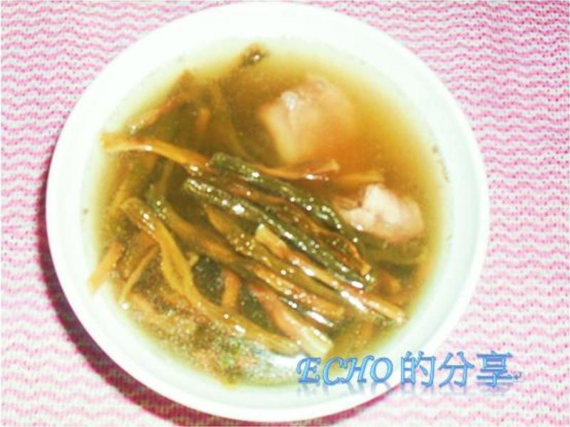 客家豆乾湯-有陽光的味道喔!!