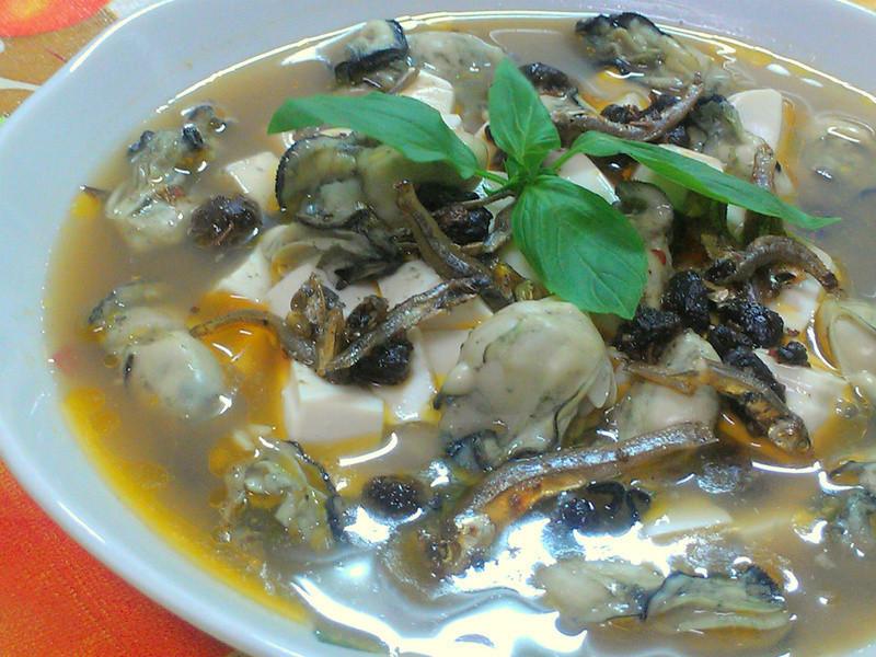 ㄚ曼達的廚房~豆腐鮮蚵