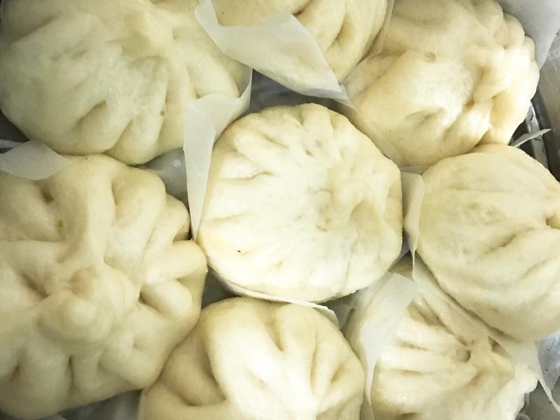 鮮肉竹筍香菇包子