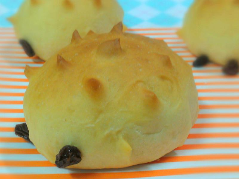 ㄚ曼達的廚房~刺蝟麵包