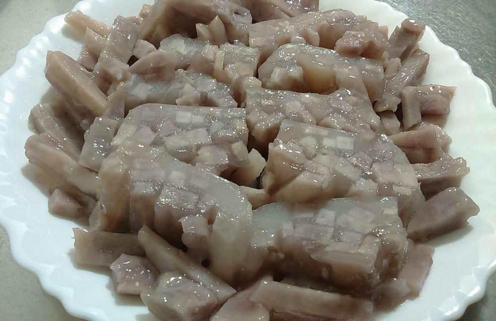 【電鍋版】水晶芋籤粿