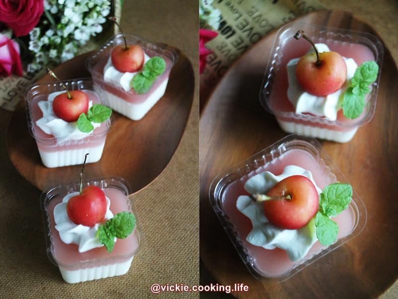 濃情蜜意《櫻杏桃鮮奶酪》