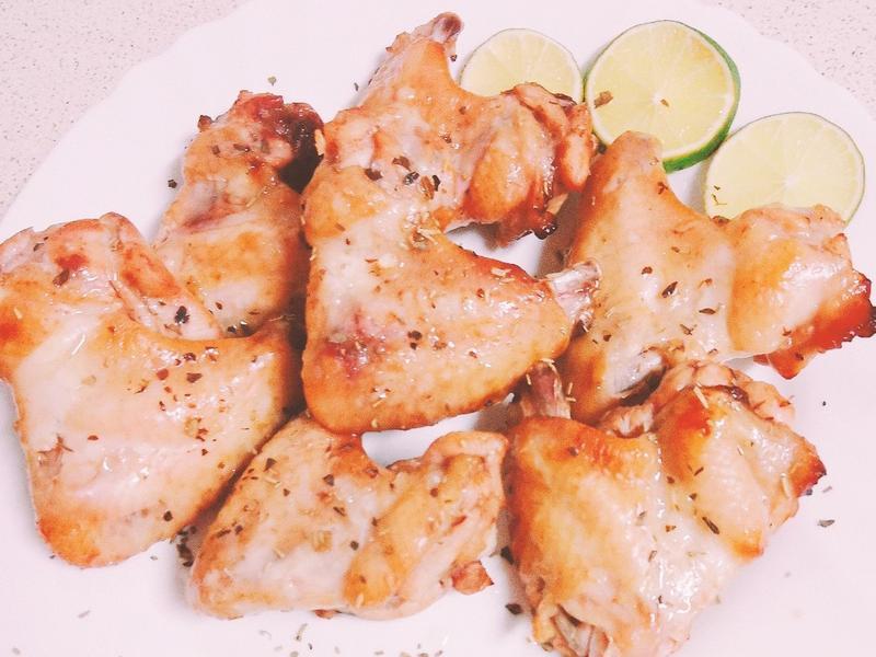 迷迭香烤雞翅