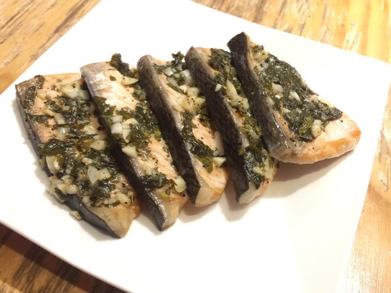 ~佑佑低GI~羅勒烤鮭魚