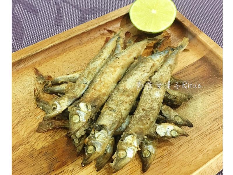 椒鹽烤柳葉魚