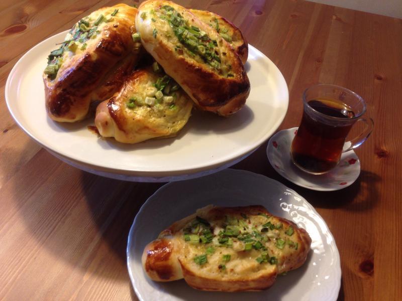 麵包18---台式蔥花鹹麵包